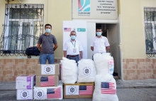 DELIVERY OF PPE TO DUSHANBE INTERNATIONAL AIRPORT WITHIN FRAMEWORK OF THE PROJECT «COVID-19 SUPPORT»