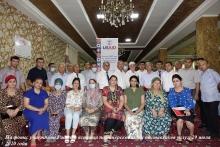 Рабочая встреча в рамках проекта USAID по ликвидации туберкулеза в Центральной Азии