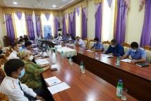Рабочая встреча с представиелями правоохранительных органов