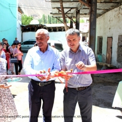 Opening of community based HTC points