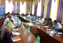 Working meeting of the medical and social service providers partner's network was held on September 20, 2019 in Bokhtar distrtict of Khatlon region.