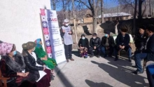 USAID Eliminating Tuberculosis in Central Asia Project held a number of information sessions among vulnerable groups of the population