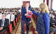 On November 30, 2019, at Tajik National University in Dushanbe awareness-raising campaign, dedicated to World AIDS Day was conducted