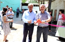 TWO NEW COMMUNITY BASED HIV TESTING AND COUNSELING POINTS WERE OPENED UNDER THE PUBLIC ORGANIZATIONS IN TAJIKISTAN